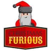 christmas furious santa driver