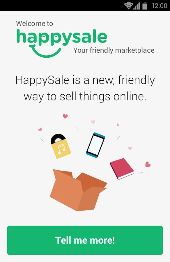 HappySale - Sell Everything - screenshot
