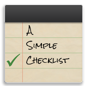 A Simple Checklist