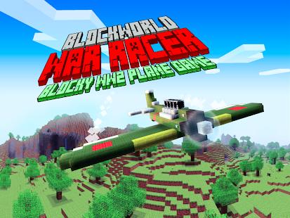 Blockworld War Racer 3D