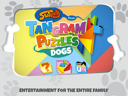 Kids Tangram Puzzles: Dogs - screenshot thumbnail