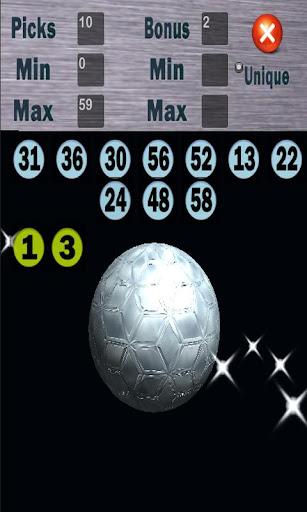 dQuickPick Lotto Generator