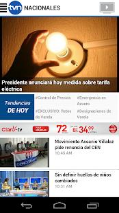 TVN Noticias - Premium- screenshot thumbnail