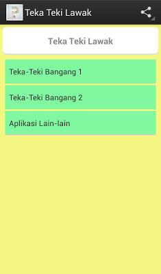 Teka Teki Lawak - screenshot