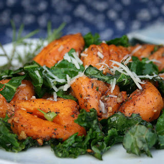 Sweet Potato Gnocchi & Rosemary Kale
