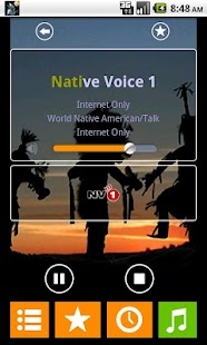 Native American Radio - screenshot thumbnail