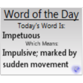 Word of the Day SE Lite
