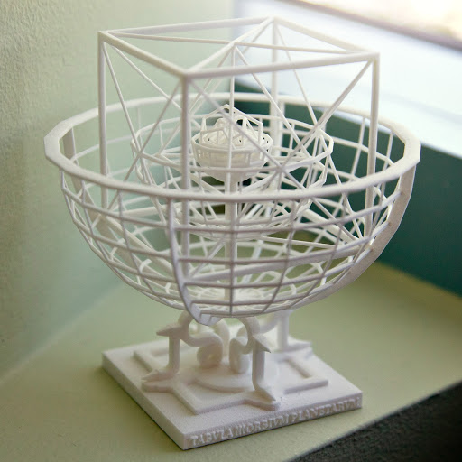 3d������keplers platonic solids model of the solar