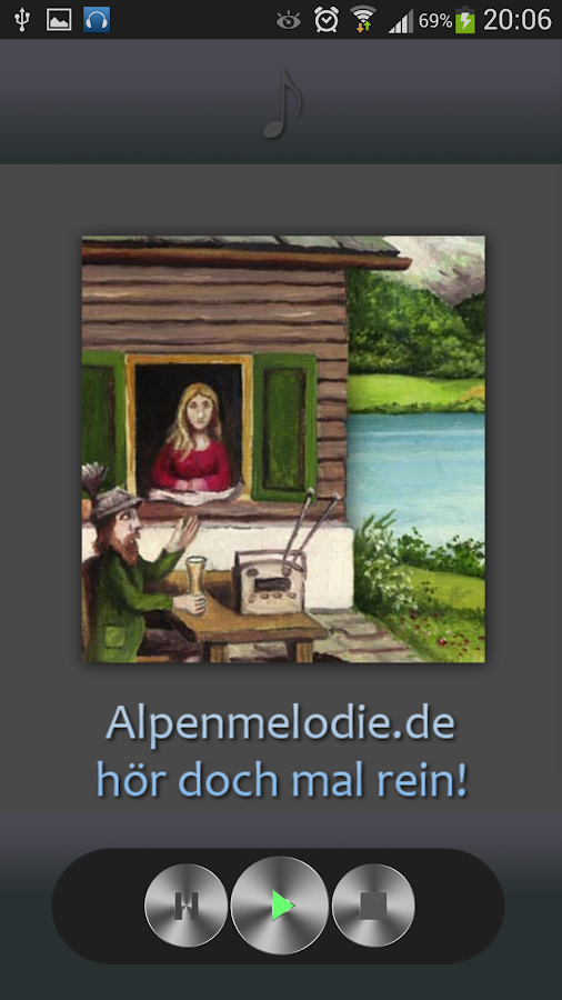 AlpenMelodie- screenshot