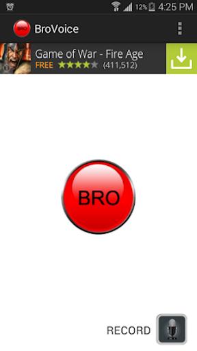 Bro Button
