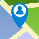 my location map gps icon