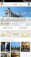 Screenshot of Rome City Guide