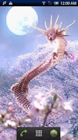 Screenshot of Sakura Dragon Moon Free