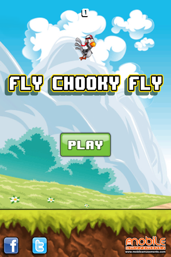 Fly Chooky Fly Flappo Chicken FREE- screenshot