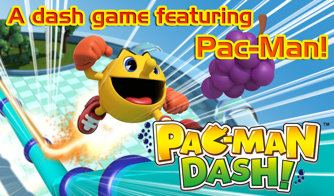 PAC-MAN DASH!- screenshot