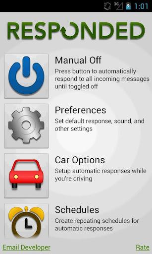Responded Auto Text Response