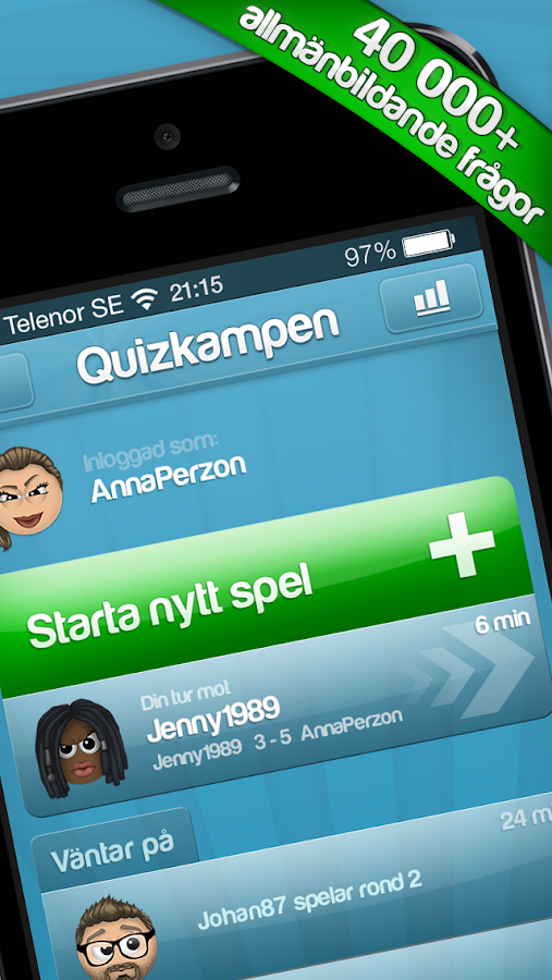 Quizkampen - screenshot
