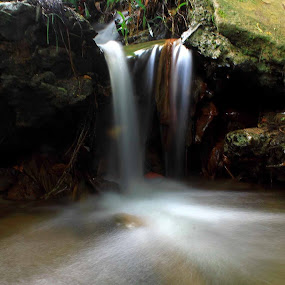 Like Waterfall by Fadel Satriawan - Landscapes Waterscapes