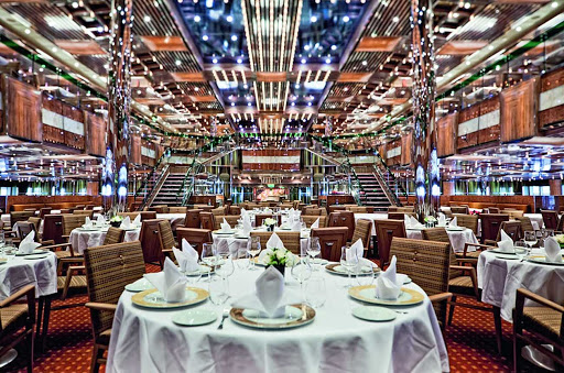Costa-Fascinosa-Otto-Mezzo-restaurant - The two-level Otto e Mezzo, one of Costa Fascinosa's two main restaurants.