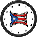 Puerto Rico FlagClock Widget icon