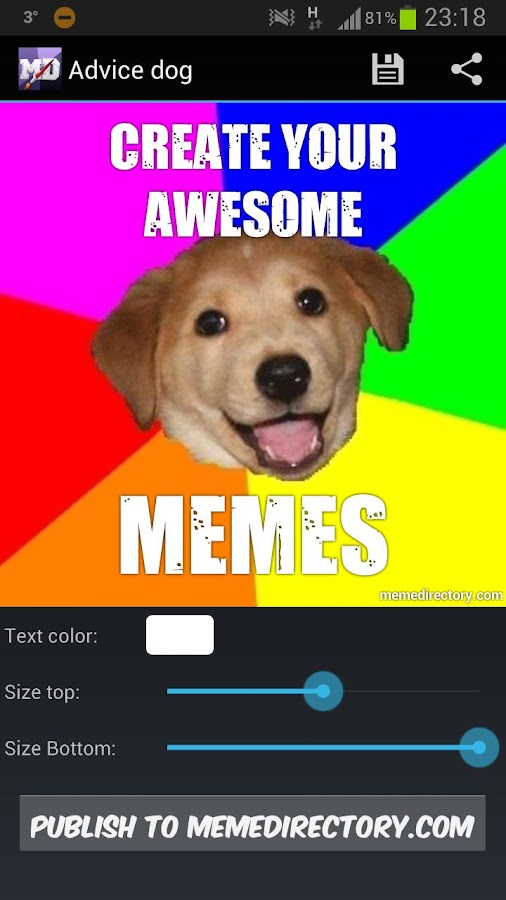 Meme Directory - screenshot