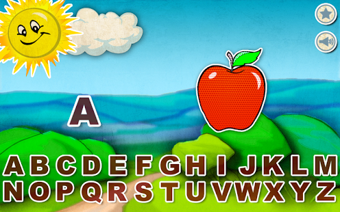 Alphabet Star - English - screenshot thumbnail