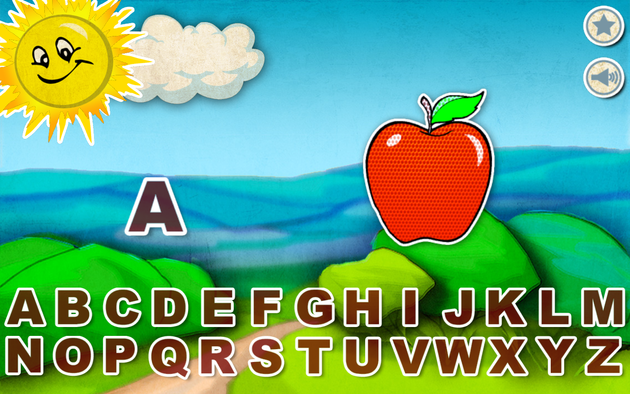 Alphabet Star - English - screenshot