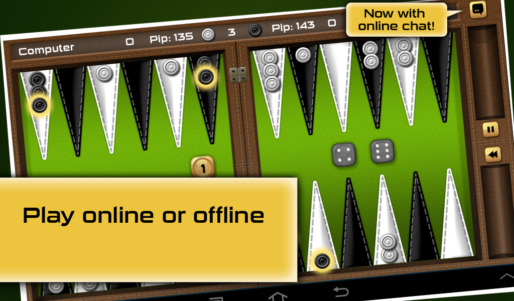 Free Online Backgammon Games No Download