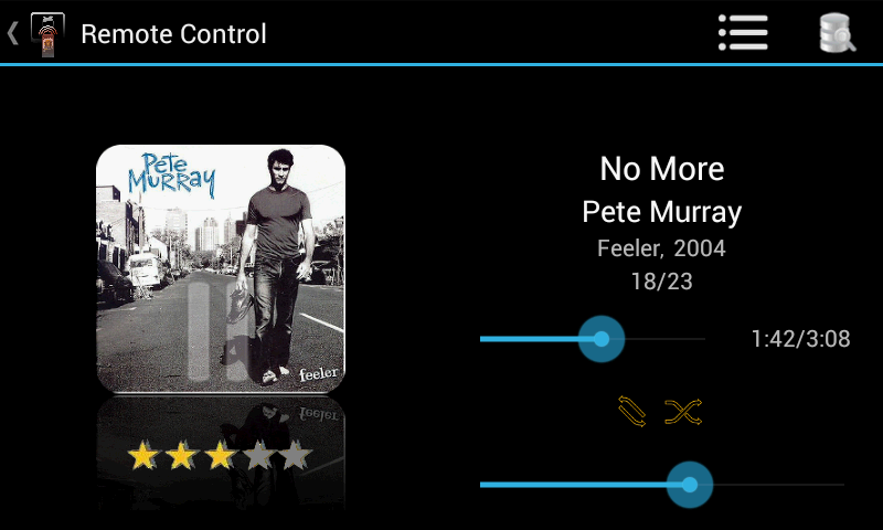Music Remote Control- screenshot