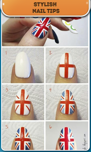 Beautiful nails step by step