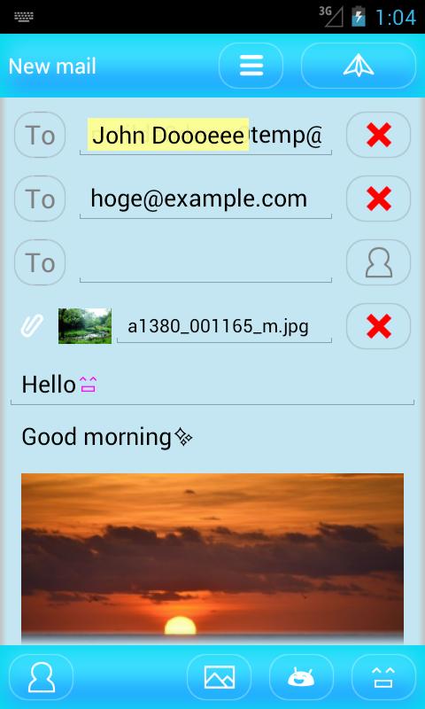 mailda - screenshot