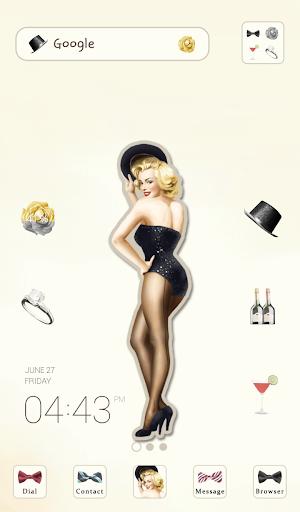 pinup Marilyn Monroe dodol