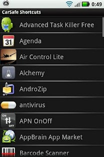 CarSafe Shortcuts- screenshot thumbnail