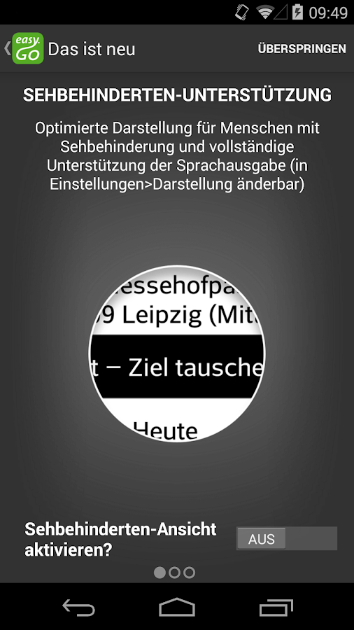 easy.GO - Für Bus, Bahn & Co. – Screenshot