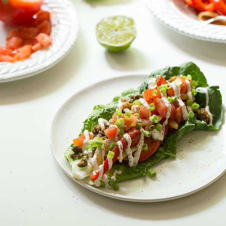 Ultimate Green Taco Wraps