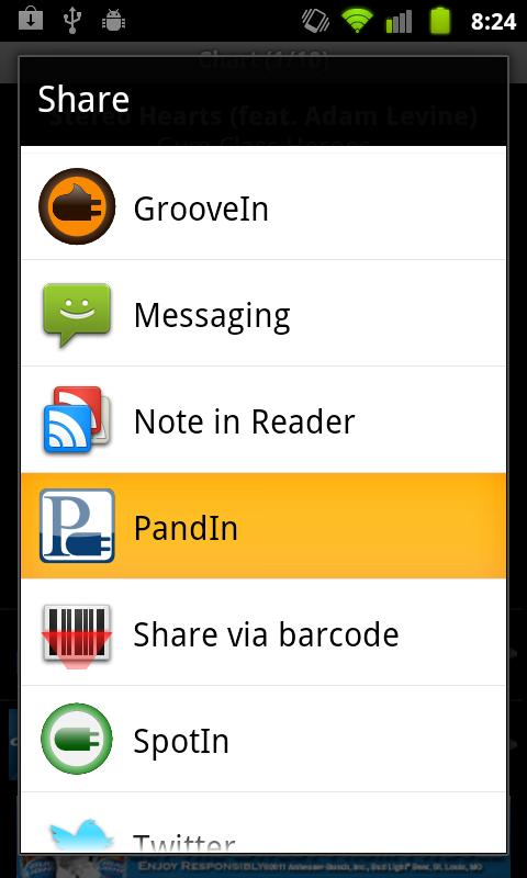 PandIn - Station Creator - screenshot