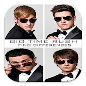 Big Time Rush Find Differences