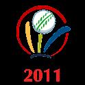 Cricket World Cup 2011 Widget logo