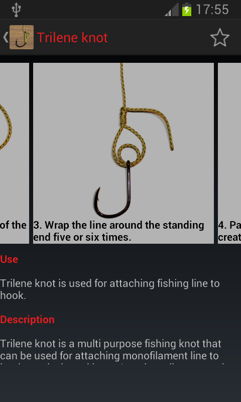 Useful fishing knots android apps on google play for Fishing knots app