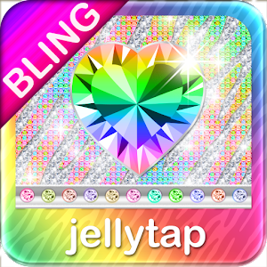 ♦BLING♦Theme Rainbow Zebra SMS for Android