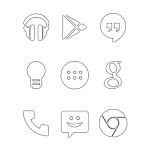 Clear Go Apex Nova Icon Theme v1.9.9