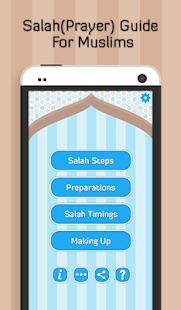 Step By Step Salah - screenshot thumbnail