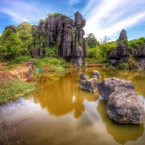 Garden stone by Asep Dedo - Landscapes Travel (  )