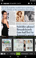 Screenshot of PressReader