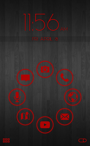 Stamped Red Pack SL Theme