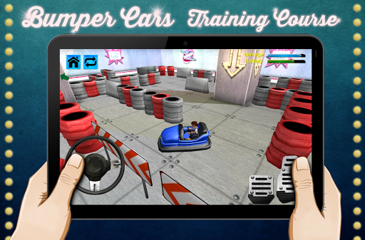 模擬必備免費app推薦 バンパー車のトレーニングコースの3D線上免付費app下載 3C達人阿輝的APP