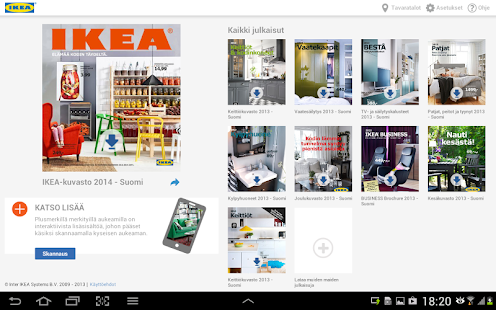 IKEA kuvasto - screenshot thumbnail