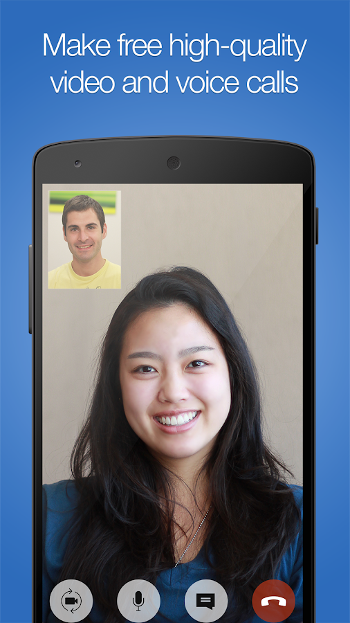 imo free video calls and chat- screenshot