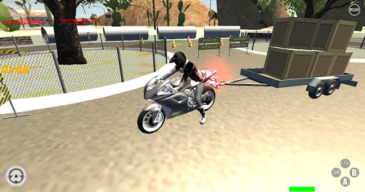 Motorcycle Race Simulator 3D