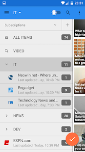 gReader | Feedly | News | RSS- screenshot thumbnail